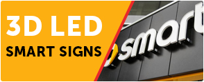 3D LED Smart Signs