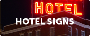 HOTEL SIGNS